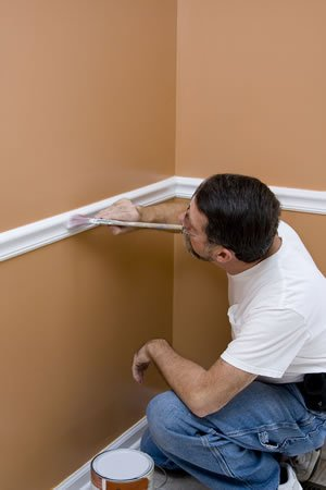 Baseboard Painting and Interior Trim Portland Oregon