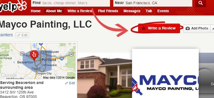 Mayco Painting LLC Yelp Reviews