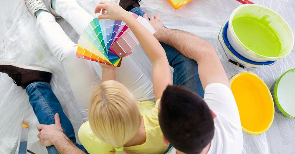 Interior House Painting – Interiors Need Energy – Look to Mondrians Paintings for Inspiration