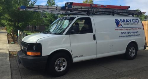 Mayco Painting Van